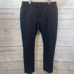 NYDJ high rise legging black stretch denim jean